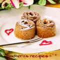 ホットケーキミックスHMとレンジで簡単1分半お菓子♡プチガトーショコラ♡バレンタインやホワイトデーに