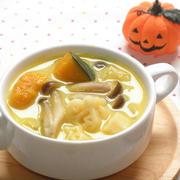 かぼちゃのマカロニスープ☆ by snow kitchen☆ さん