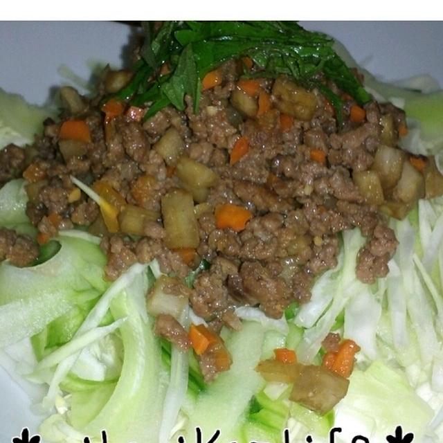 *ごぼう肉味噌&お弁当*