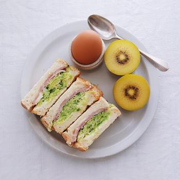 Cabbage sandwich