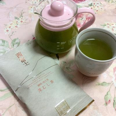 ハラダ製茶の静岡産深蒸し茶「茜富士」でほっこり緑茶タイム♪