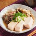 雷肉豆腐 、 男前豆腐レシピ by 筋肉料理人さん