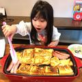 杏ちゃんに朝ごはんを作ってもらいました〜!!