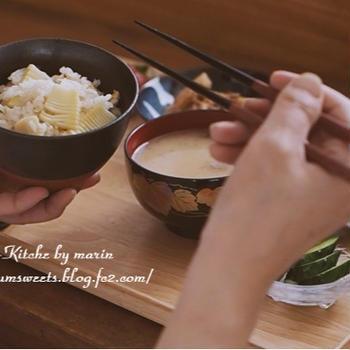 【動画】筍料理・【レシピ】筍とホタテのバター炒め・【日常】よそいきと普段着
