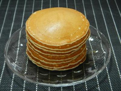 リンゴ酵母液でパンケーキ☆