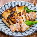 魚焼きグリルでカリッと焼く「鶏肉と薄揚げの焼き浸し」&「チキンラーメン屋台のソース焼きそば」