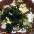 簡単!うまうま高野豆腐の卵とじ