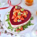 ダブルベリーレアチーズケーキ★バレンタインにも