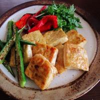 豆腐のレモン醤油ソテー