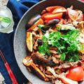手軽にエスニック!豚肉と茄子のトマトナンプラー炒め(動画レシピ)