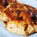 野菜と茸でヘルシー&ボリュームUP!さっぱりつくねと甘辛いタレが合う!ふわふわ鶏つくねの照り焼き