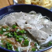 お豆腐温麺。