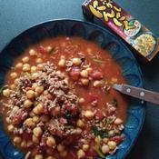 ひよこ豆のトマトスープ