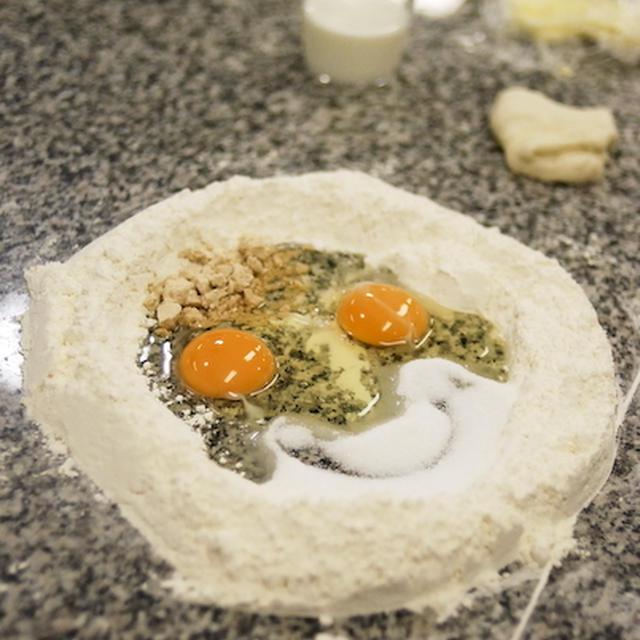 アートなブリオッシュ : 『コルドンブルー デビューレッスン/フランスパンコース』
