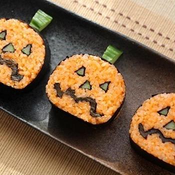 ジャック・オー・ランタンの飾り寿司