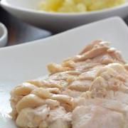 レンジうす塩鶏、コロコロ肉じゃがのごはん2DAYS。