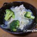 ダイエットメニュー「豚肉とブロッコリーのスープ煮」