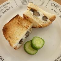 ★黒豆のクリームチーズトースト(レシピブログ)