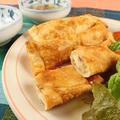 餃子の皮で簡単!ローストチキンの絶品スティックチーズのおつまみ by 銀木さん