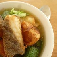 ★鱈とジャガイモのサフランスープ(レシピブログモニター)