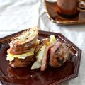 ハムステーキサンドイッチでランチ** by にこさん