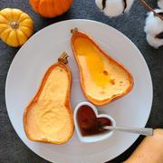 バターナッツかぼちゃのパンプキンプリン*レシピあり