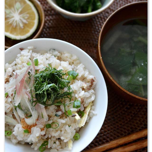 土鍋で秋刀魚ご飯・・・*