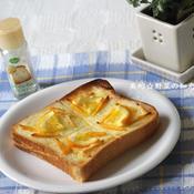 レモン&メロンパン風トースト