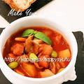 クックパッドでトップ10入り「トマトジュースde☆ミネストローネ」&ラストポチ by ジャカランダさん