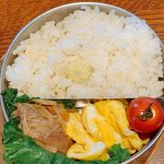 ヤングコーン炊き込みご飯弁当