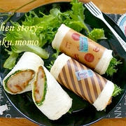 持ち寄りにも便利!Lコロで作るラップサンド&レトロ昭和な食卓へようこそ。