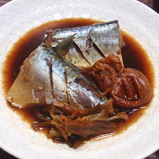 鯖(サバ)の梅干し煮(レシピ付)