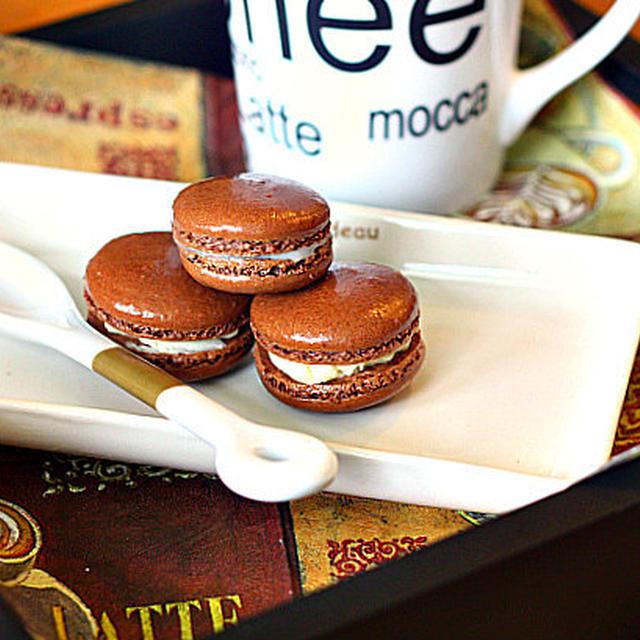 French Macaroon 【Chocolate】