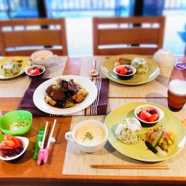 枝豆と昆布の混ぜご飯♬おうちご飯〜♪