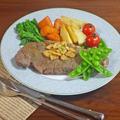 ニンニクで美味しさ倍増!春の激うま牛肉サーロインステーキ