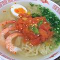 海老トマト湯麺(タンメン)
