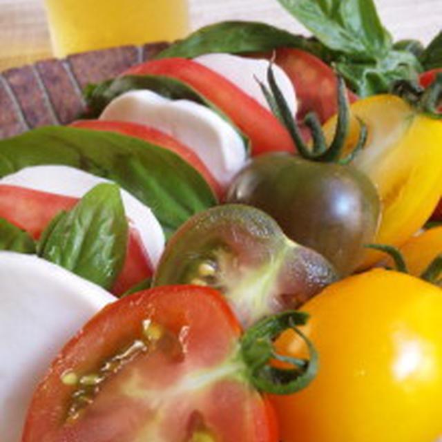 赤トマト黄色トマトミニトマト