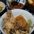 鶏手羽と大根のほっこり煮(マリネ液リメイク)&さつまいもと人参のはちみつプルーン煮