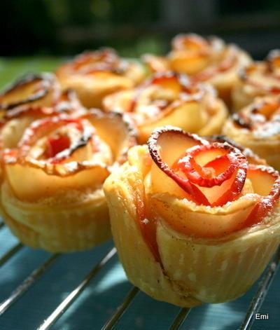林檎の花タルトレット レシピ