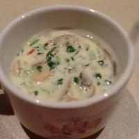 マッシュルームとツナのクリームスープ