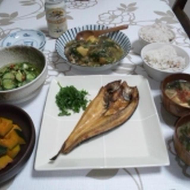 和食でホッコリ。ほっけの豆知識☆