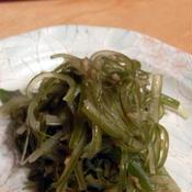 茎わかめのピリ辛塩ナムル
