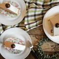 【簡単!栗のお菓子】ミキサーであっという間♪栗のババロアケーキ