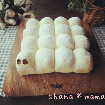 基本の基本♪ふわんふわ~んな白パンちぎりパン♪