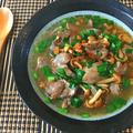 低カロガッツリ。オイスター味噌生姜の煮込みレバニラ(糖質8.6g) by ねこやましゅんさん