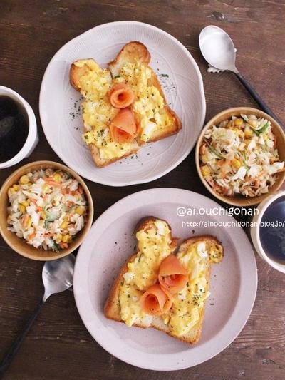 【レシピ】母の日に作りたい♡たまごサラダのオープンサンド♡#パン #食パン #オープンサンド #おうちカフェごはん #母の日