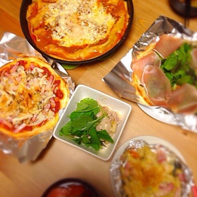 【レシピ】オーブンいらず!フライパン・鍋で作る簡単ラザニア!