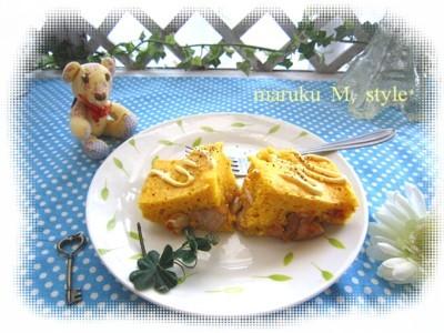 ノンオイルのタンドリーチキン蒸しパン&実家