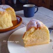 勝手に3層になる魔法のケーキ〜マジカルカスタードスフレ〜 カラメルソースでプリンケーキにも早変わり