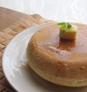 炊飯器ふわふわホットケーキ